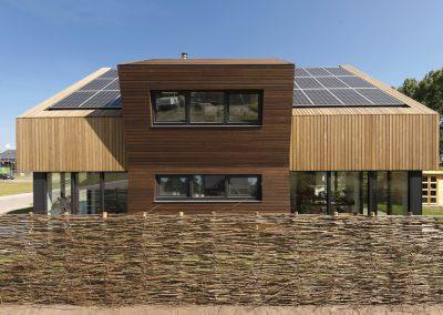 ecologische biobased architectuur met een verhaal