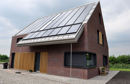 DWA: buitenHUIS, energieproducerend passiefhuis