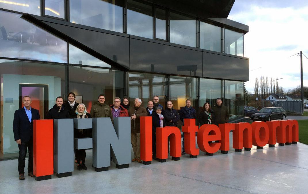 Zeer geslaagd fabrieksbezoek voor architecten in Oostenrijk
